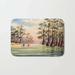 Suwannee River Florida Canoeing Bath Mat