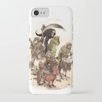 bouletcorp iPhone & iPod Cases featuring Four Horsemen by Bouletcorp