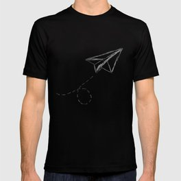 Paper Airplane 9 T-shirt