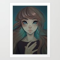 astrology Art Prints featuring Astrology by Cyarin