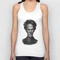 clint eastwood Tank Tops featuring Clint Eastwood by Thomas Bryant