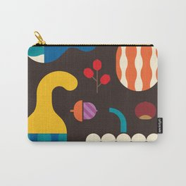 Autumn Gourds Carry-All Pouch