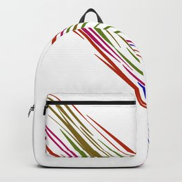 Design exotic wild lines Backpack