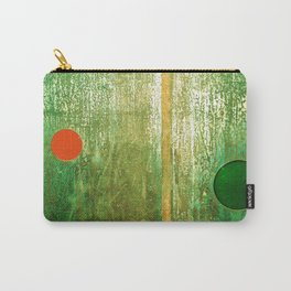 Metallic Face (Green Version) Carry-All Pouch