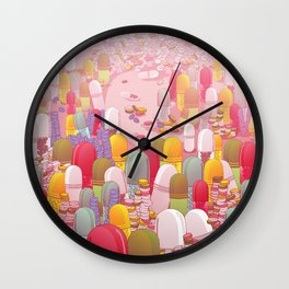Society of Pills Wall Clock