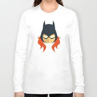 batgirl Long Sleeve T-shirts featuring Batgirl by Oblivion Creative