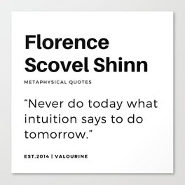 41   | Florence Scovel Shinn Quotes | 200126 Canvas Print