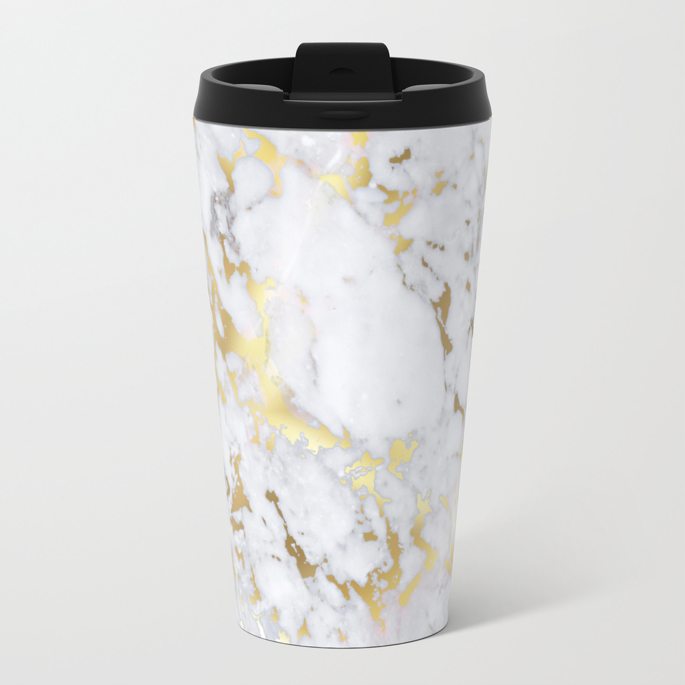 Original Gold Marble Travel Cup TRM6156625