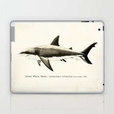 Carcharodon carcharias II ~ Great White Shark Laptop & iPad Skin