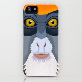 De Brazza's Monkey iPhone Case