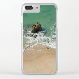 Sea Algarve Portugal Clear iPhone Case