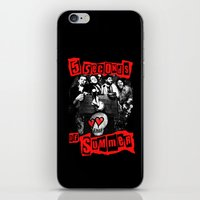 5 seconds of summer iPhone & iPod Skins featuring FIVE SECONDS  by dan ron eli