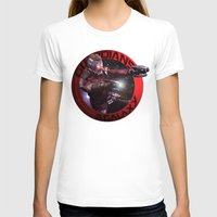starlord T-shirts featuring StarLord - Guardians of the Galaxy by Leamartes