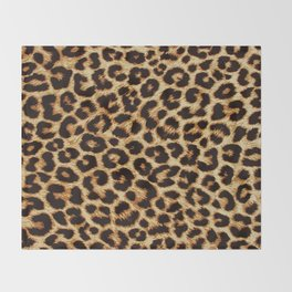 ReAL LeOparD Throw Blanket