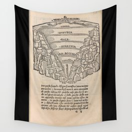 Overview of Hell Wall Tapestry