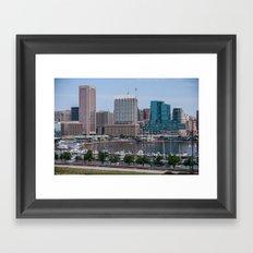 Federal Hill Park Framed Art Print