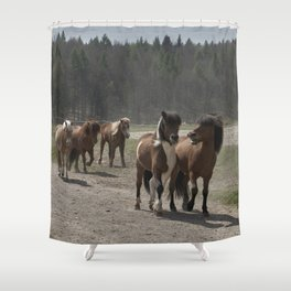 Are you hungry as well? Shower Curtain
