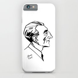 Maurice Ravel iPhone Case