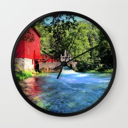 A Day at Abbey Mill Wall Clock