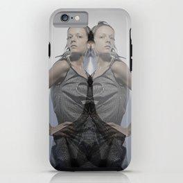Kaleidoskop s/w 2 iPhone Case