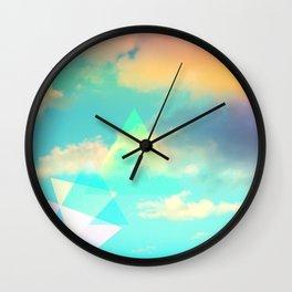 Colorscape #1 Wall Clock