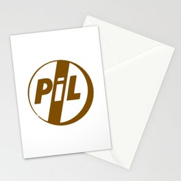 Pil Punk Band Stationery Cards