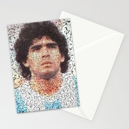 Homage to Maradona  Stationery Cards