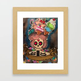 candy chick  Framed Art Print