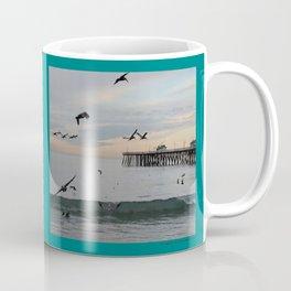 Pelican Jump Fast Coffee Mug