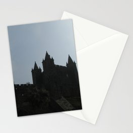 medieval castle Stationery Cards