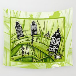 The Green Grass of Home #3 Wall Tapestry