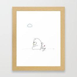 Lovely Day Framed Art Print