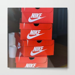 Nike Metal Print