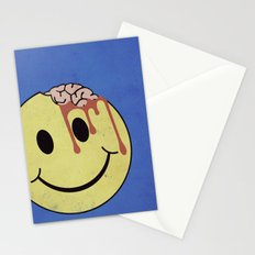 Don't worry. Be eaten. Stationery Cards