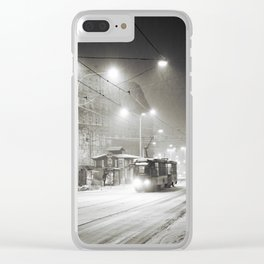 It's snowing Clear iPhone Case