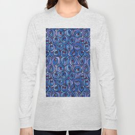 "Charles Rennie Mackintosh ""Roses and teardrops"" edited 5. Long Sleeve T-shirt"