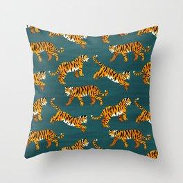 Bengal Tigers - Navy  Throw Pillow