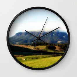 Halo over Mt.Roland. Wall Clock