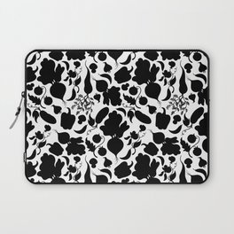 Vegetables black and white Laptop Sleeve