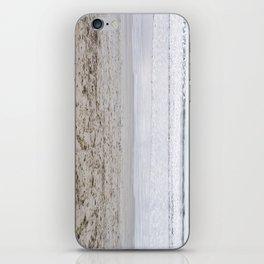 b e a c h iPhone Skin