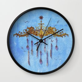 The Curiosa Wall Clock