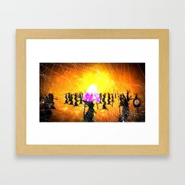 God Gamble Trip Framed Art Print