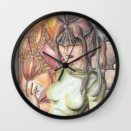 She's with the creatures in the copse Wall Clock