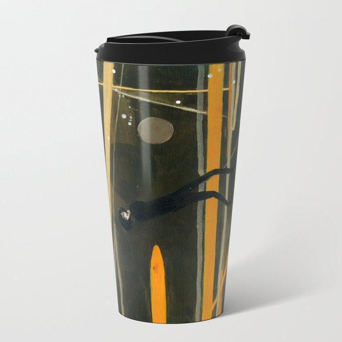Me convierto en estrella Metal Travel Mug