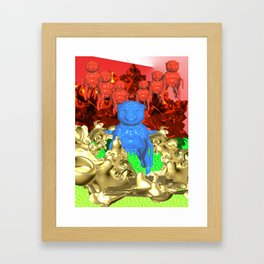 Invasion Framed Art Print