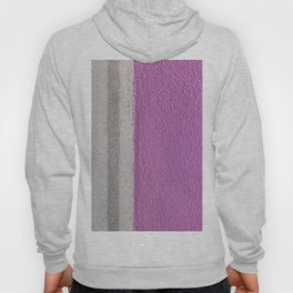 Pink To Gray Pattern Hoody