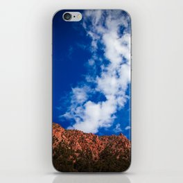 In the Mountains. iPhone Skin