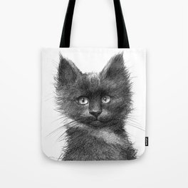 Black Kitten SK135 Tote Bag
