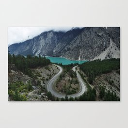 Seton Lake  Canvas Print