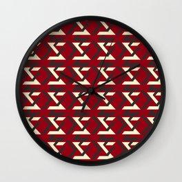 TYPOGRAPHY TTY N20 Wall Clock